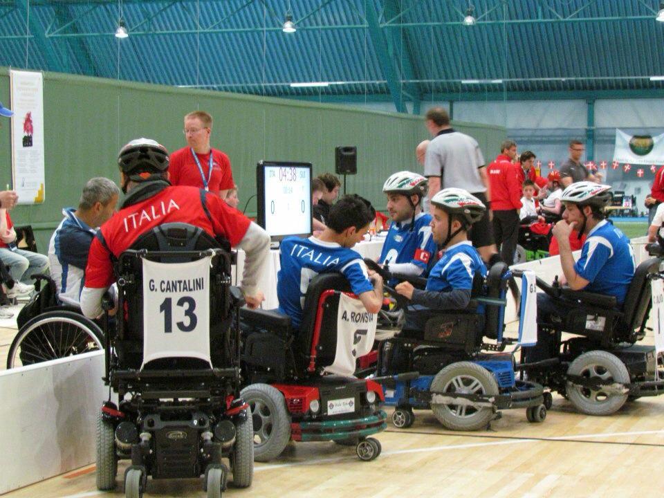 hockey e disabili
