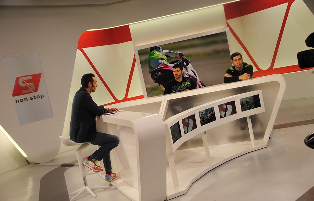 Max Sontacchi ospite della trasmissione di LA2, 'Sport non Stop'